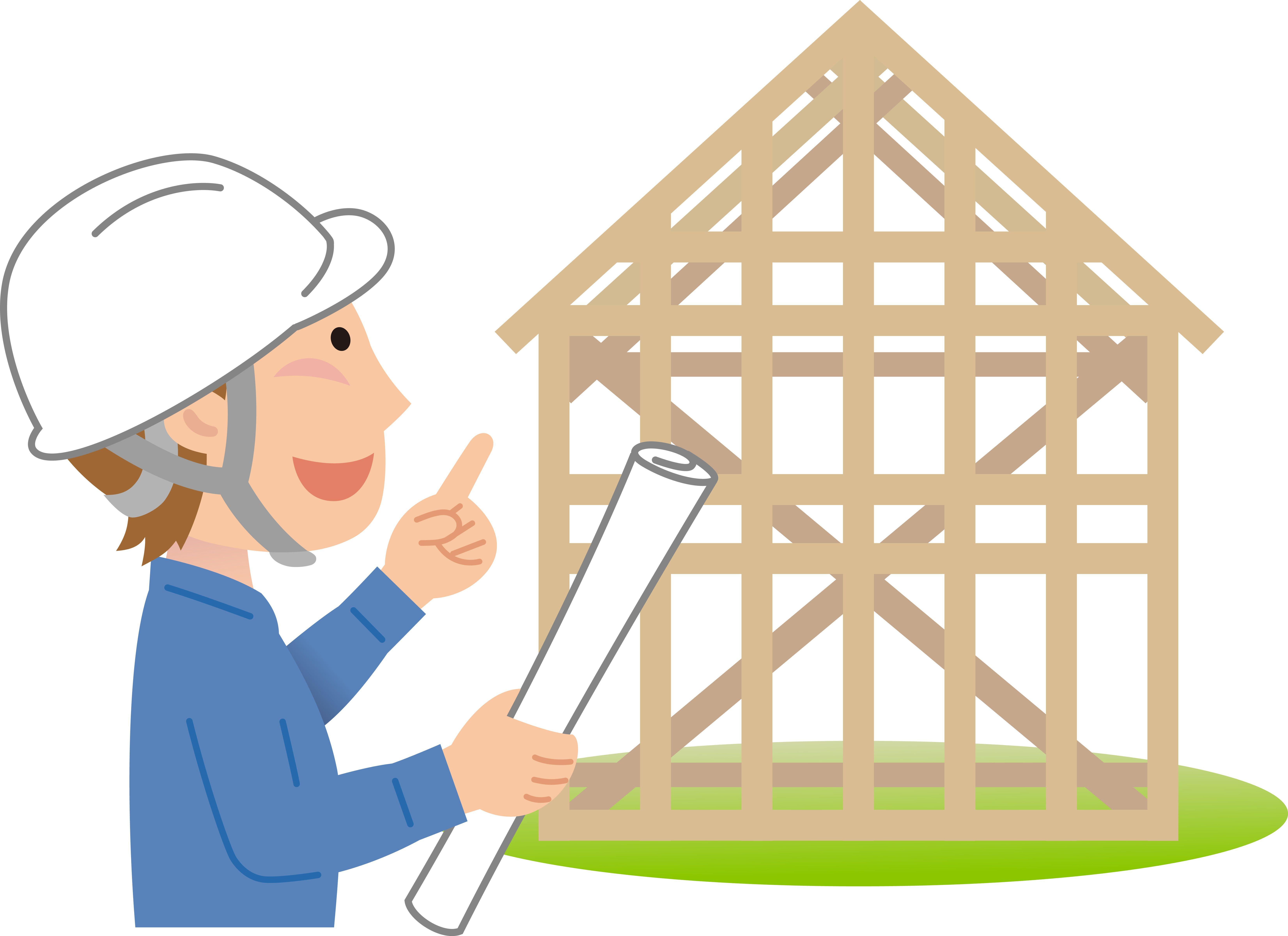 グローリーハウス お客様の希望の自宅上棟工事無事終了