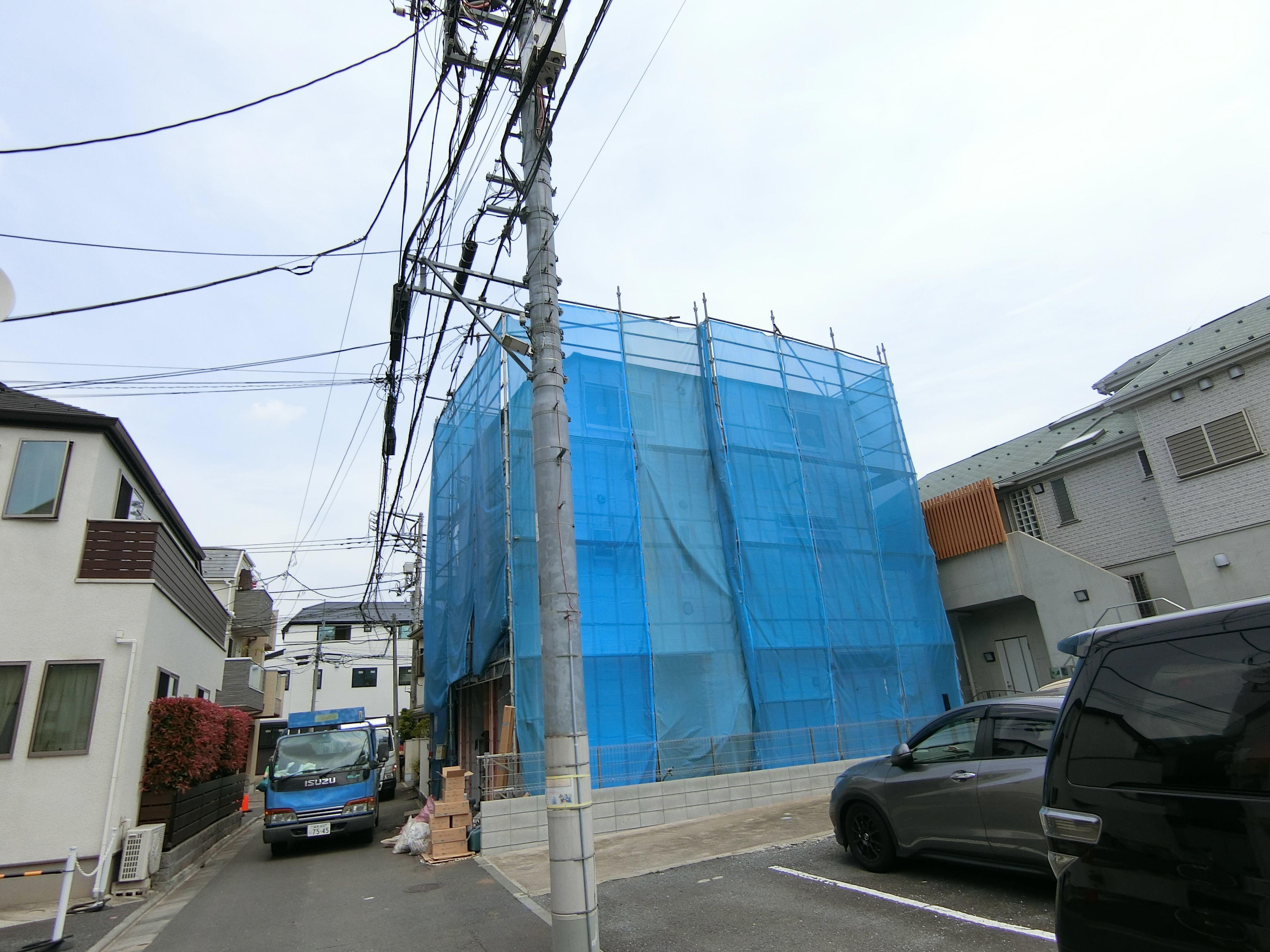 中野区野方1丁目地区次々と建設される新築分譲住宅