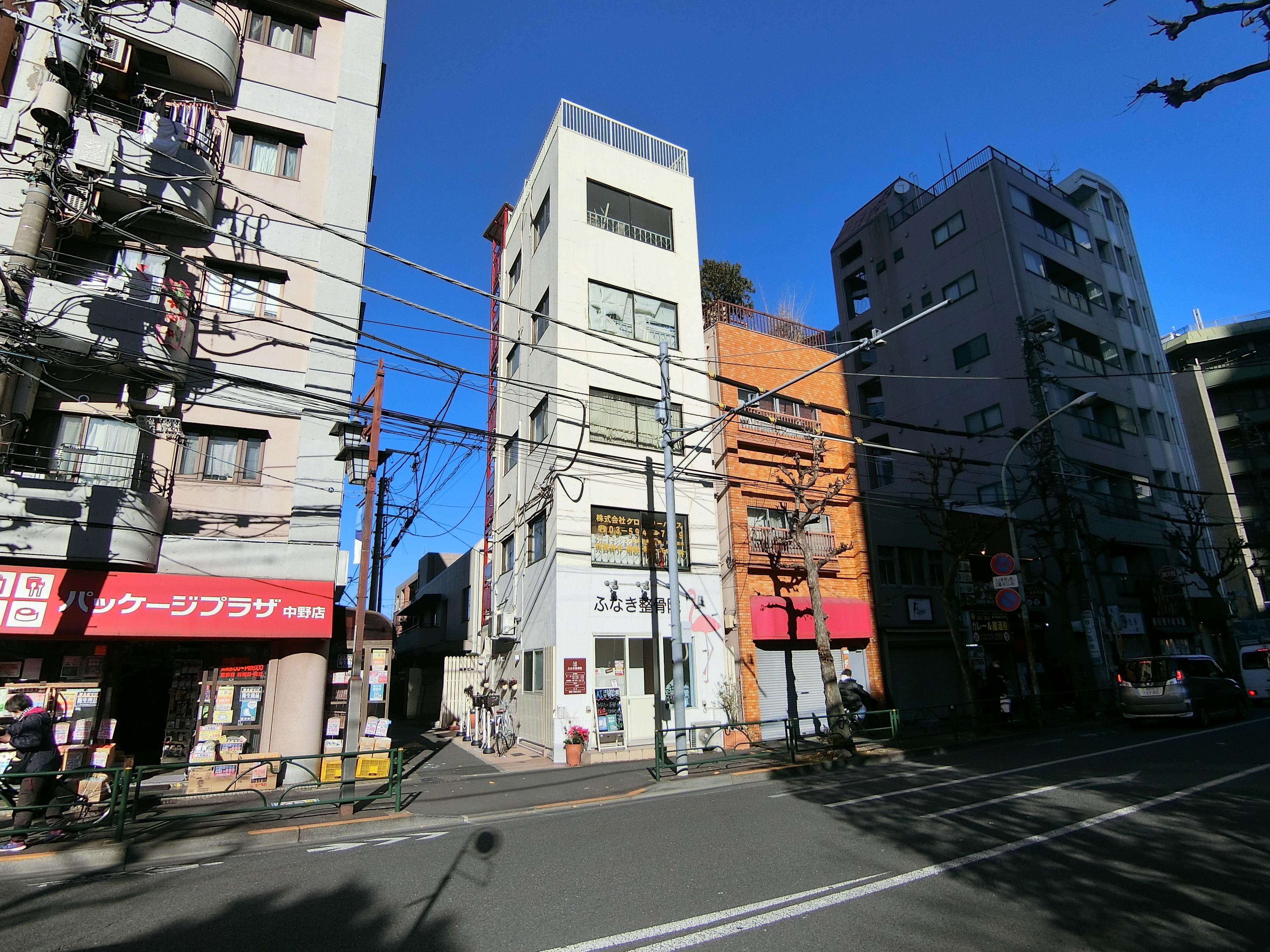 中野グローリーハウスの賃貸募集 松本ビル3階事務所